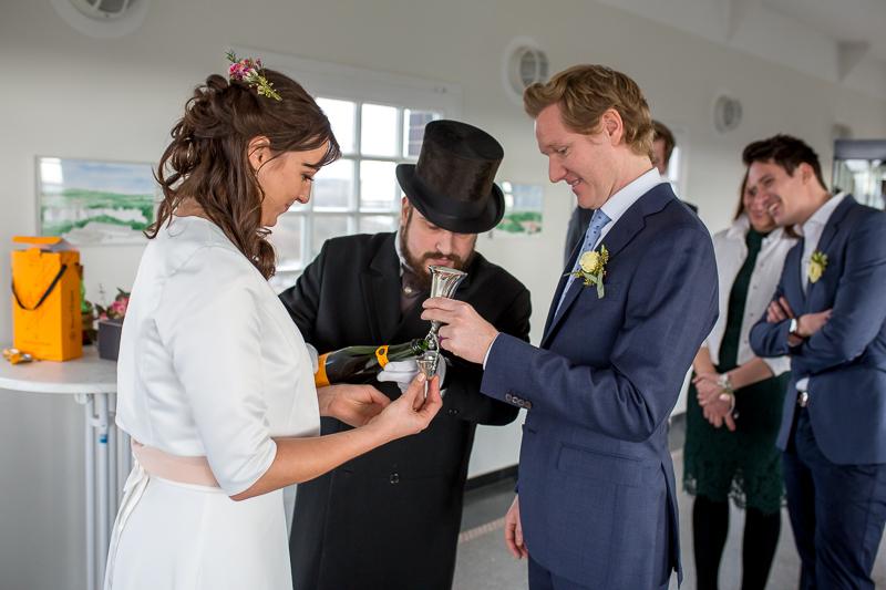 Trauung im Hochzeitsturm in Darmstadt
