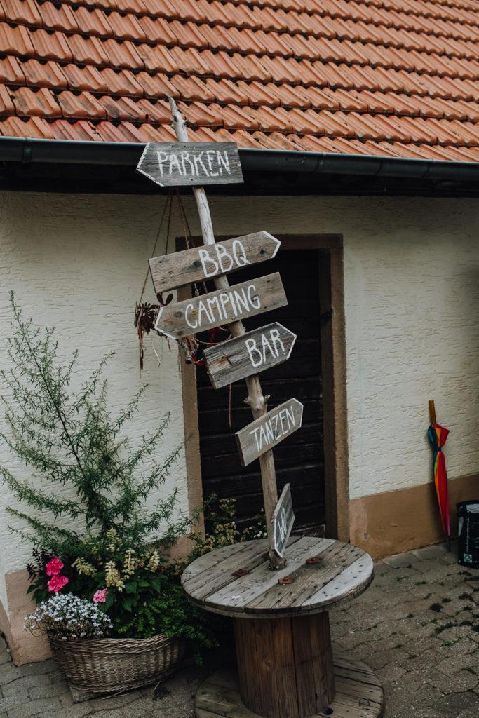 Kirchliche Trauung in Fränkisch Crumbach