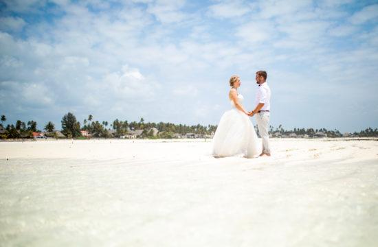 After Wedding Fotoshooting auf Sansibar