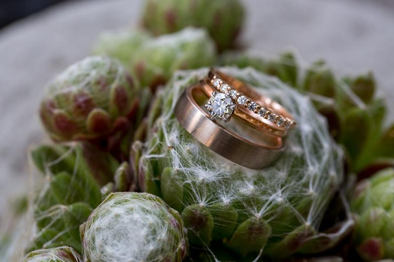 Detailsaufnahmen von Ringen