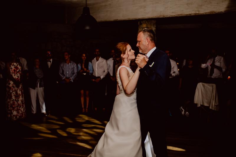 Vater Tochter Tanz