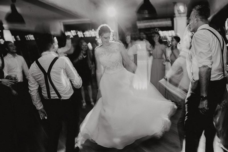 Hochzeitsparty auf dem Pankratiushof