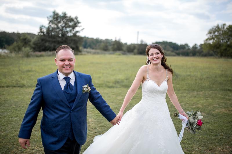 Brautpaar auf dem Weiherhof