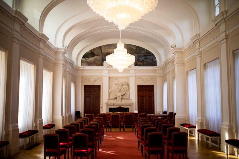 Stadtteil Rathaus in Paris