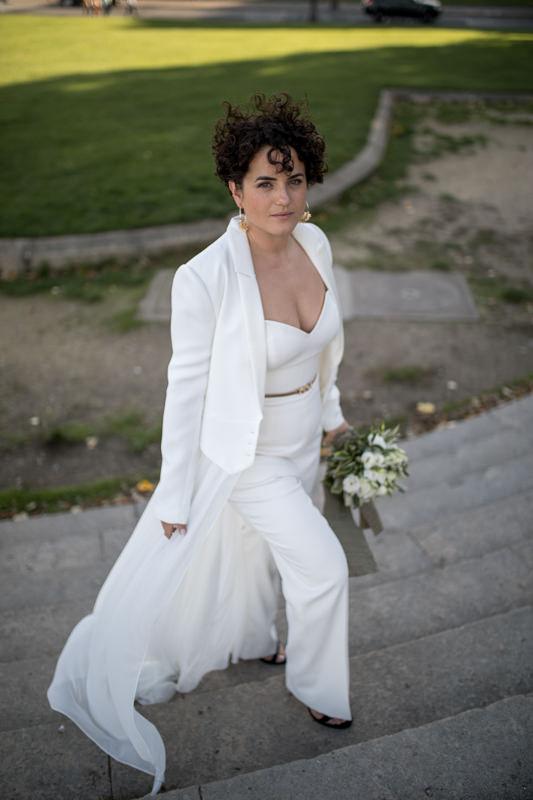 classy bride Paris