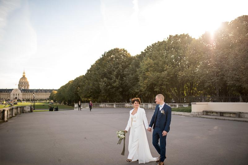 classy wedding in Paris
