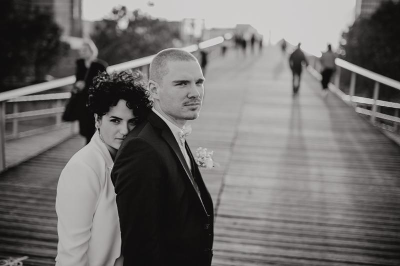 sunset bridal couple shoot Paris