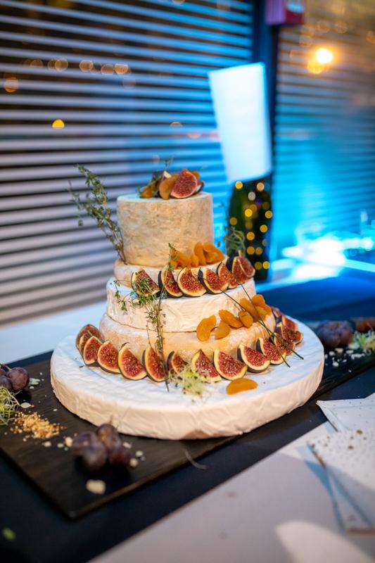 Käse Hochzeitstorte Frankreich
