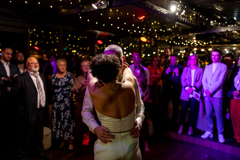 first dance bridal couple Paris