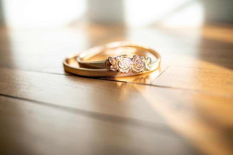 goldener Gürtel für Brautkleid